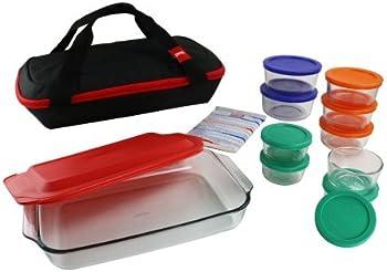 Pyrex 22-Pc. Portable Bakeware Storage Set