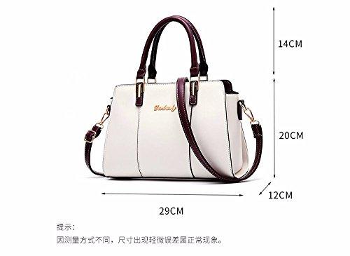 Pockets Casual with Shoulder Shoulder Soft Bags Large Clutch Shoulder Small Many Leather Vintage Women's Capacity Khaki Body MSZYZ PU Wristlet Cross AwqxFPOx5