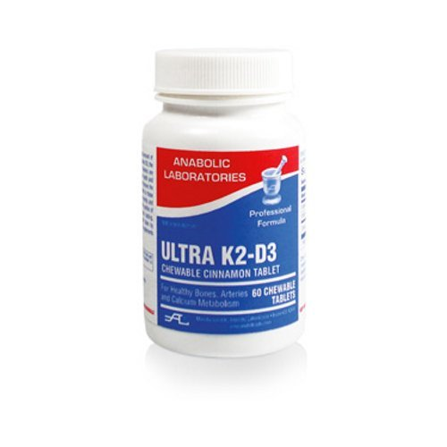 Anabolic Laboratories, Ultra K2-D3 60 tablets