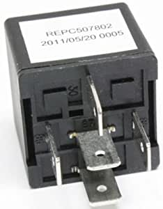 Evan-Fischer EVA29572036917 Relay Multi-purpose Passenger Side RH Rear 12 volts Blade type 5-prong male terminal