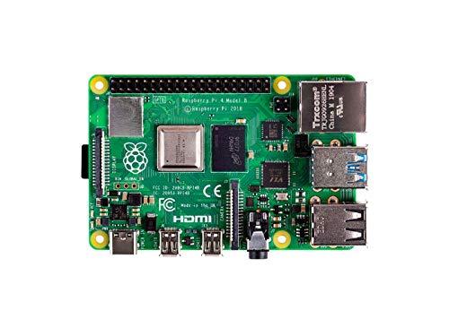 seeed Studio Raspberry Pi 4 Model B [4GB] RAM, Single Board Computer Suitable for Building Mini PC/Smart Robot/Game Console/Workstation/Media Center/Etc.