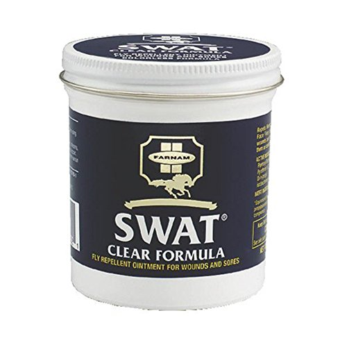 Farnam SWAT Clear Fly Repellent Ointment (6 oz) (Ointment Fly Swat Repellent)