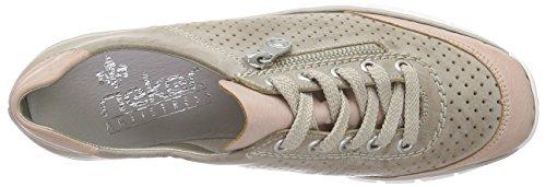 Rieker 53725 Women Derby - Zapatillas Mujer Gris (Rose/steel / 32)