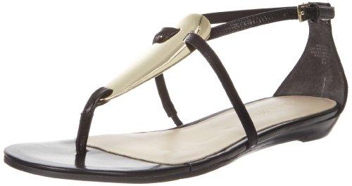 Nine West Weslie, Infradito donna Nero nero