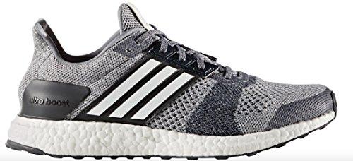 Adidas Performance Heren Ultra Boost Straatschoen Grijs / Wit