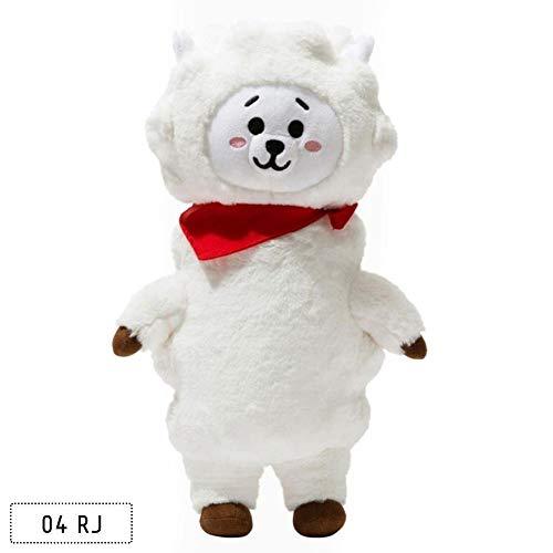 9f2311b49 FANMURAN 30CM Kpop BTS Plush Toy BT21 Rabbit Dog Standing Doll Gift JIN