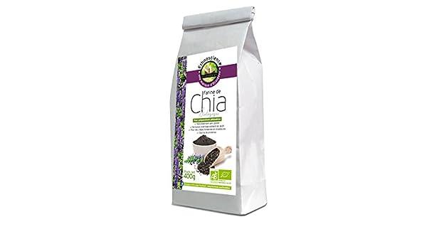 Harina de chía orgánica, semillas de chia en polvo ecologicas ...