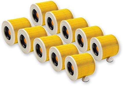 Ersatzfilter Patronenfilter Filterpatrone für Kärcher A 2064 PT 2074PT 2101 2105