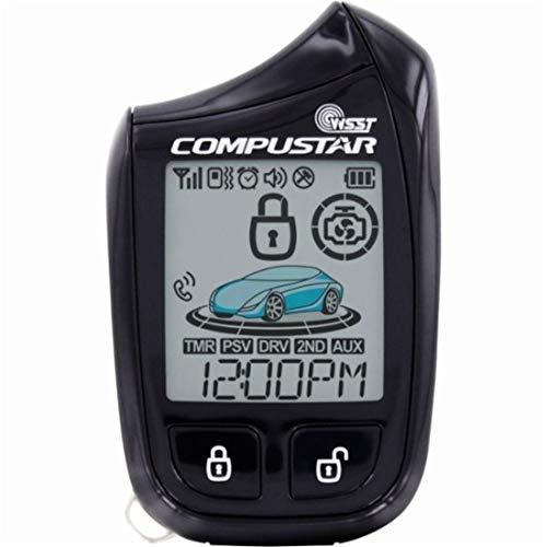 Compustar 2W901R-SS 5B 2-Way LCD, 1-Mile ()