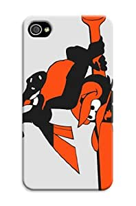 cheap iphone 5/5s SoftGel Flexible Case Customizable Baseball Baltimore Orioles and All Carriers