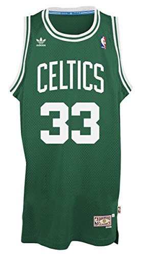 Larry Bird Boston Celtics Green Throwback Swingman Jersey 4XL (Jersey Green Throwback)
