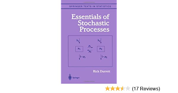 Amazon essentials of stochastic processes springer texts in amazon essentials of stochastic processes springer texts in statistics 9780387988368 richard durrett books fandeluxe Choice Image