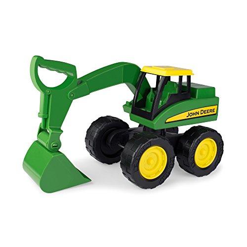 John Deere Excavator - TOMY Johnny Tractor Preschool Range - Big Scoop Excavator - Suitable from 3 Years
