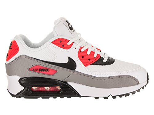 Nike dust White Baskets Femme Air Wmns Red black Max solar 90 TZw1Trq