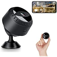 ZEIGER 1080P HD Mini IP WiFi Camera Magnetic Camcorder Wireless Home Security Car DVR Support Night Vision Video…