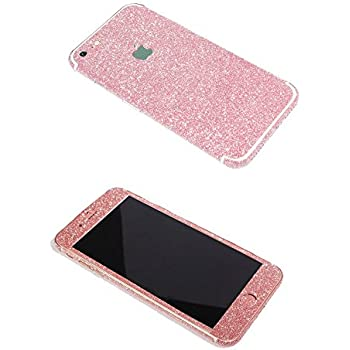 lowest price 00361 c33ce iPhone 7 Bling Skin Sticker, Supstar Full Body Coverage Glitter Vinyl Decal  - Dustproof, Anti-Scratch for Apple iPhone 7 (Light Pink)