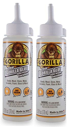 Gorilla Clear Glue, 5.75 ounce Bottle, Clear (Pack of 1) (2-(Pack)) by Gorilla (Image #6)