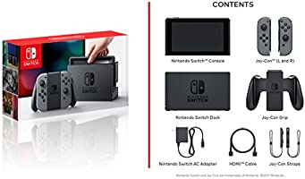 Amazon.com: Nintendo Switch - Gray Joy-Con - HAC 001 ...