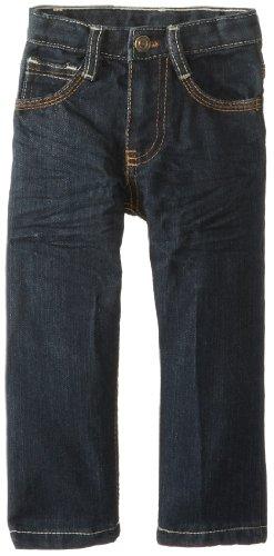 Embroidered Back Pocket Jean - 7