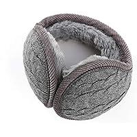 Zando Women Foldable Ear Warmers Unisex Polar Earwarmers Warm Fleece Winter EarMuffs