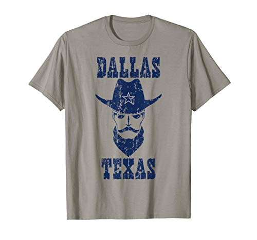 Dallas Texas Vintage Retro Distressed Gift T-Shirt