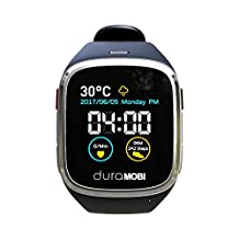 """1.54"""" Water Resistant Smart Watch Sync with Andorid & IOS ECG watch Dynamic heart rate & Blood pressure monitor Pedometer & Fitness Tracker Sleep monitor 2G talk watch"""