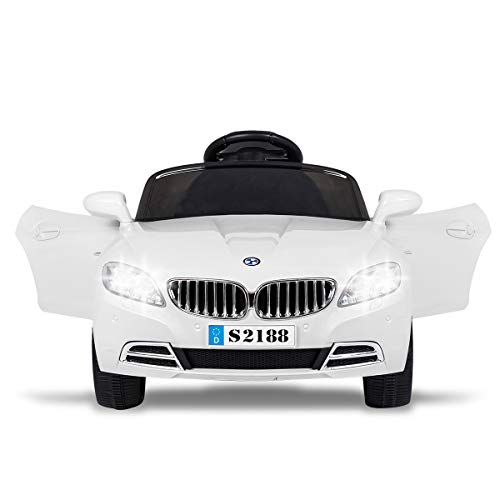 TAMCO Toys Ride on Car, RC Parental Control Electric Power Wheel, Bluetooth Music Playing for Kids 3-8 Years 41.4 x 24.4 x 18.5 inches