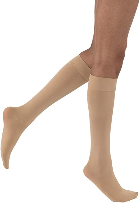 Jobst Opaque Stockings Thigh High Closed Toe 15-20 Compression