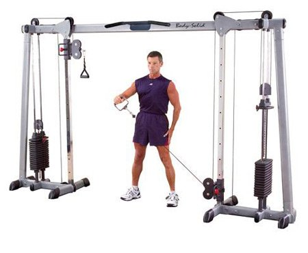 Ironcompany.com Body Solid Cable Crossover Functional Trainer