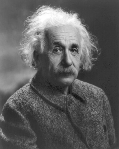 New 8x10 Photo: Renown Theoretical Physicist Albert Einstein
