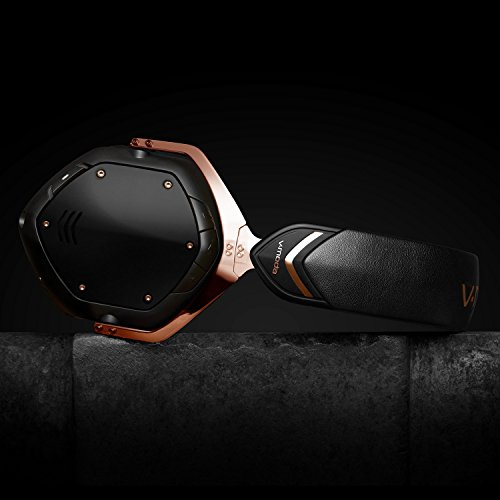 V-MODA Crossfade 2 Wireless Over-Ear Headphone with Qualcomm aptX - Rose Gold