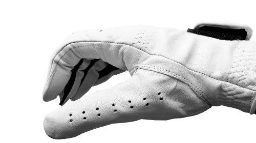 Golf Glove, Premium Cabretta Leather Golf Glove, Men's left Hand or Men's right Hand, regular fit (X-Large, Left)