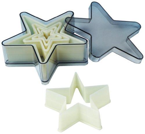 UPC 811657030551, Fat Daddio's 5-Piece 5 Point Star Nylon Cutter Set