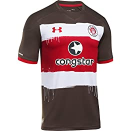 2017-2018 St Pauli Home Football Shirt