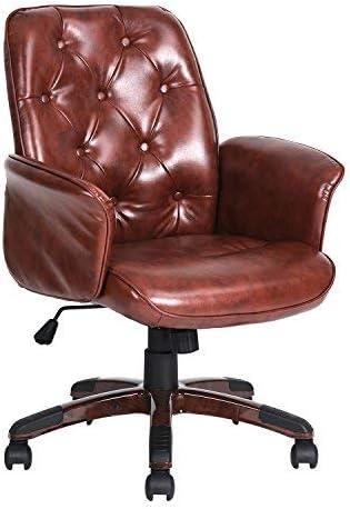 Homy Casa Chaise De Bureau Mid Backrest Amazon Ca Maison Et Cuisine