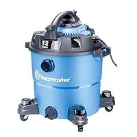 Vacmaster 12 galones, 5 pico HP, aspiradora húmeda /seca con soplador desmontable, VBV1210