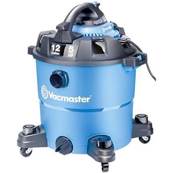 Amazon Com Vacmaster 12 Gallon 5 Peak Hp Wet Dry Vacuum