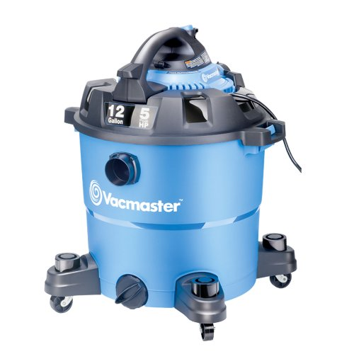 Vacmaster, VBV1210, 12 Gallon 5 Peak HP Wet/Dry Shop Vacuum with Detachable Blower from VACMASTER