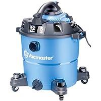 Vacmaster 12 Gallon, 5 Peak HP, Wet/Dry Vacuum with Detachable Blower, VBV1210