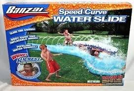 Banzai Speed Curve Water Slide by Banzai by Banzai