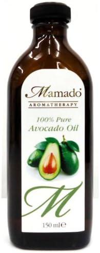 Aceite de aguacate 100% puro / Aceite de masaje de aceite / Cuidado de la piel / Aceite de cuero cabelludo 150ml