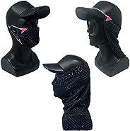 CoolNES Black-Pink Bundle 3 Pack - 1. Neck Face Mask 2. Mask 3. Gaiter