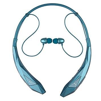 greenten Sport cuello manos libres Bluetooth auriculares auriculares, auriculares Gaming Auriculares Audifonos Guía de voz