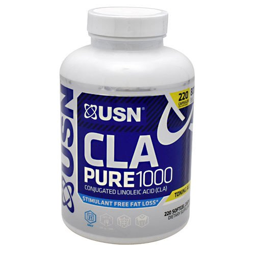 USN Supplements CLA Pure 1000 220's, 0.6 Pound