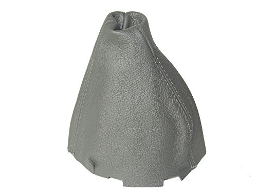 - The Tuning-Shop Ltd for Mercedes C-Class W203 2000-03 Manual Shift Boot Grey Genuine Leather