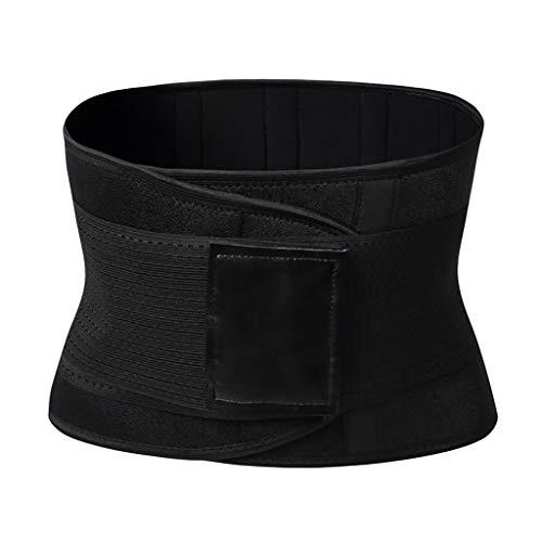 Allywit- Women Butt Lifter Shapewear Hi-Waist Tummy Control Body Shaper Shorts Waist Trainer Belt Black ()