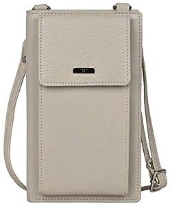 Urban Forest Ruby Beige Leather Sling Wallet for Women