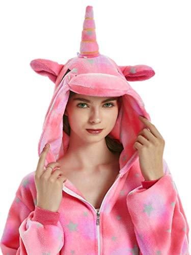 Adult Pajamas Unicorn Costume Onesies for Women Men