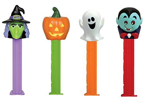 PEZ Halloween Dispenser with 2 Candy Packs -