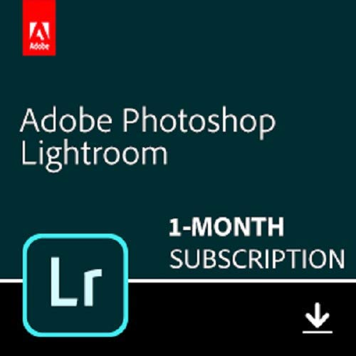 Adobe Lightroom | Photo editing and organizing software | 1-month Subscription with...